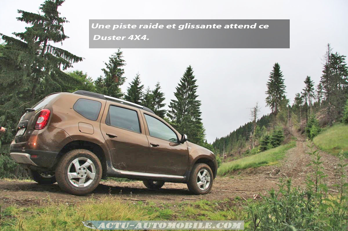 essai 4x4 le dacia duster l 39 assaut des carpates actu. Black Bedroom Furniture Sets. Home Design Ideas