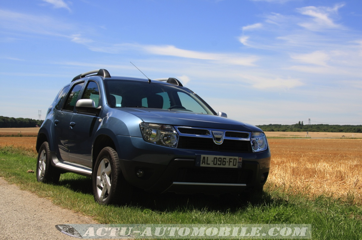 essai dacia duster 1 5 dci 90 bilan photos actu. Black Bedroom Furniture Sets. Home Design Ideas