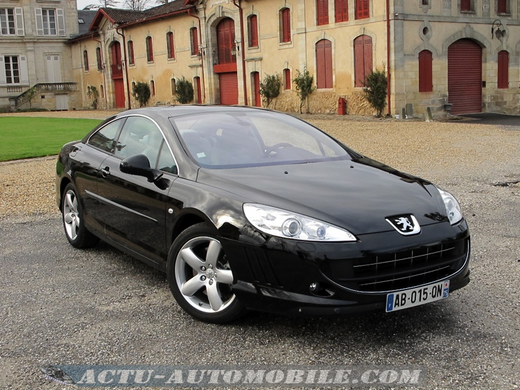 photos peugeot 407 coup v6 hdi actu automobile. Black Bedroom Furniture Sets. Home Design Ideas