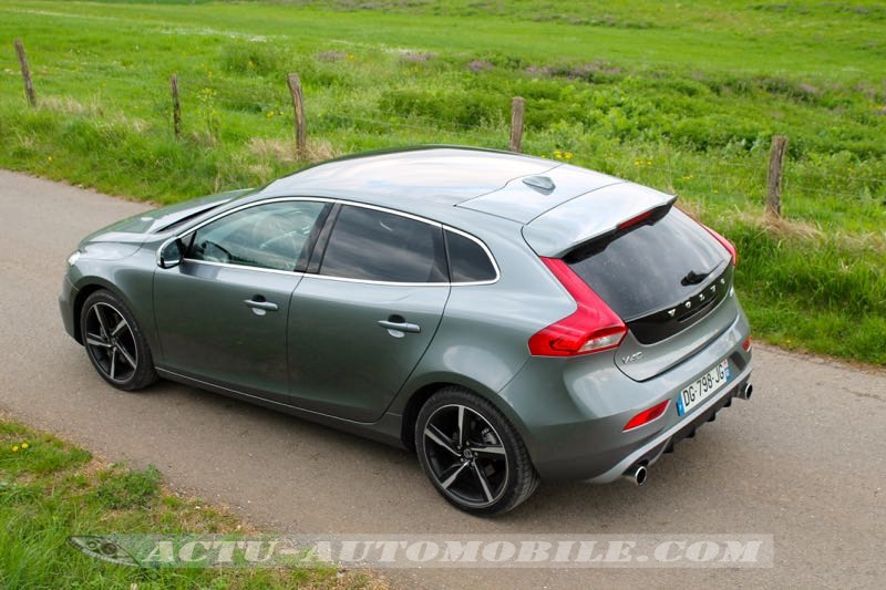 essai volvo v40 r design t5 conclusion photos actu automobile. Black Bedroom Furniture Sets. Home Design Ideas