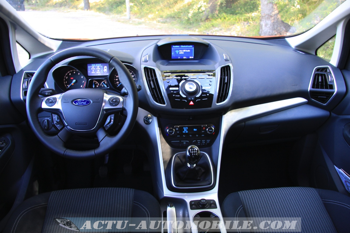 essai ford c max titanium 1 6 scti ecoboost 150. Black Bedroom Furniture Sets. Home Design Ideas