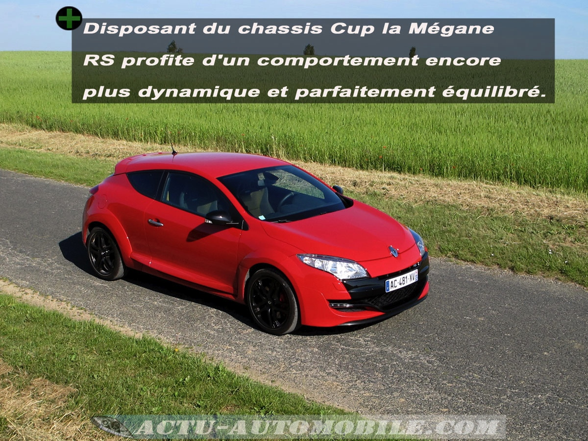 essai renault megane 3 rs ch ssis cup conclusion galerie photos caract ristiques actu. Black Bedroom Furniture Sets. Home Design Ideas