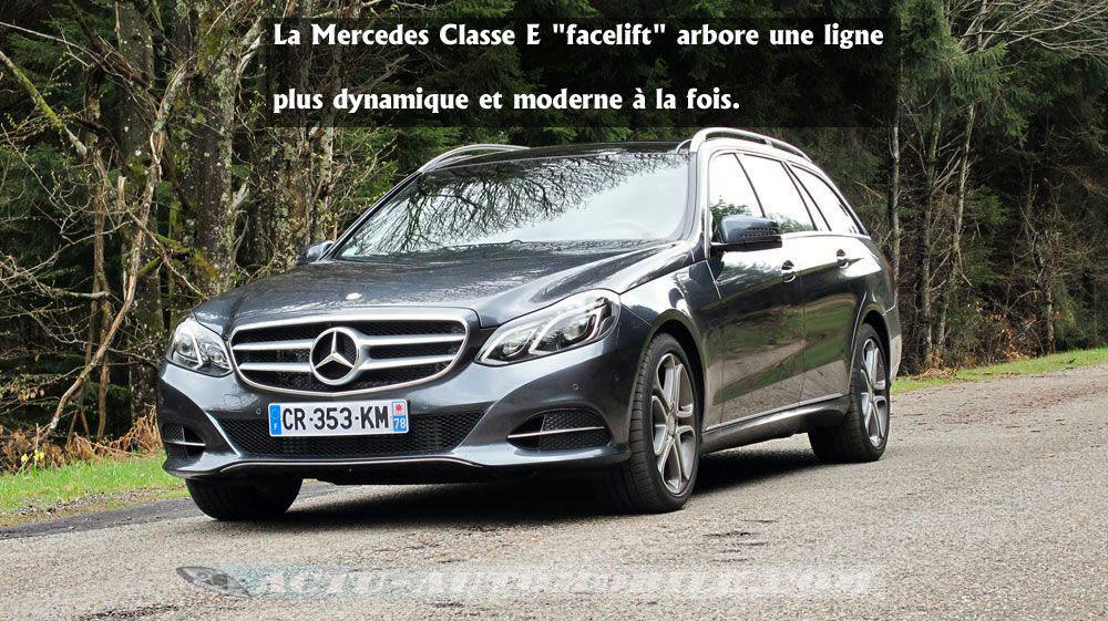 essai mercedes classe e 350 bluetec conclusion photos actu automobile. Black Bedroom Furniture Sets. Home Design Ideas