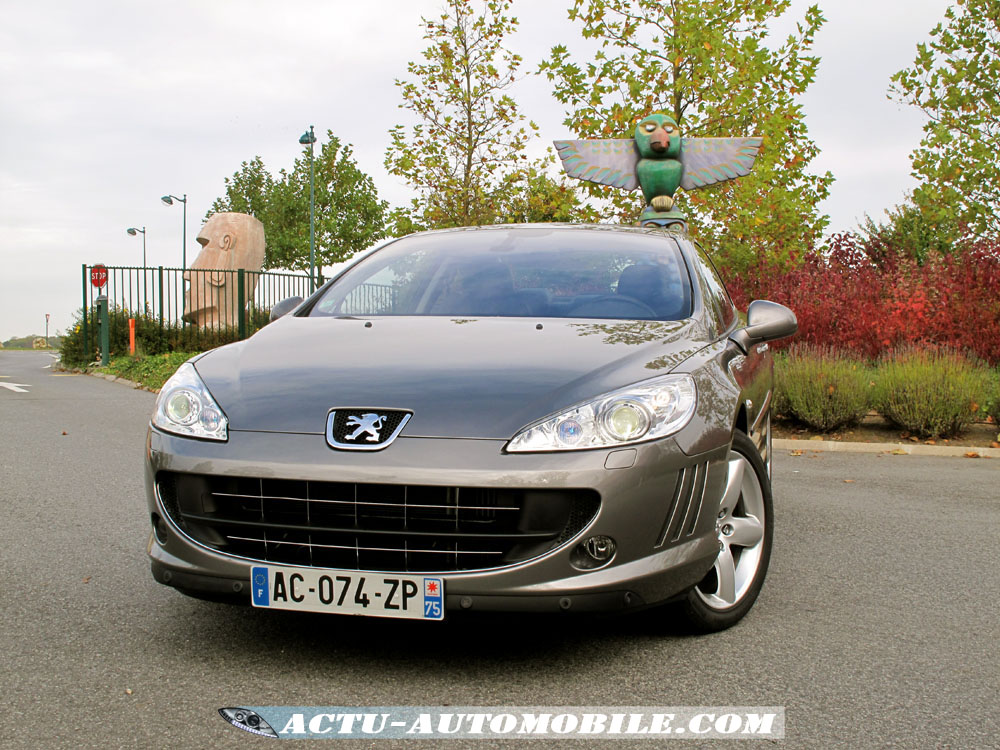 2009 peugeot 407 coup 2 0 hdi related infomation specifications weili automotive network. Black Bedroom Furniture Sets. Home Design Ideas