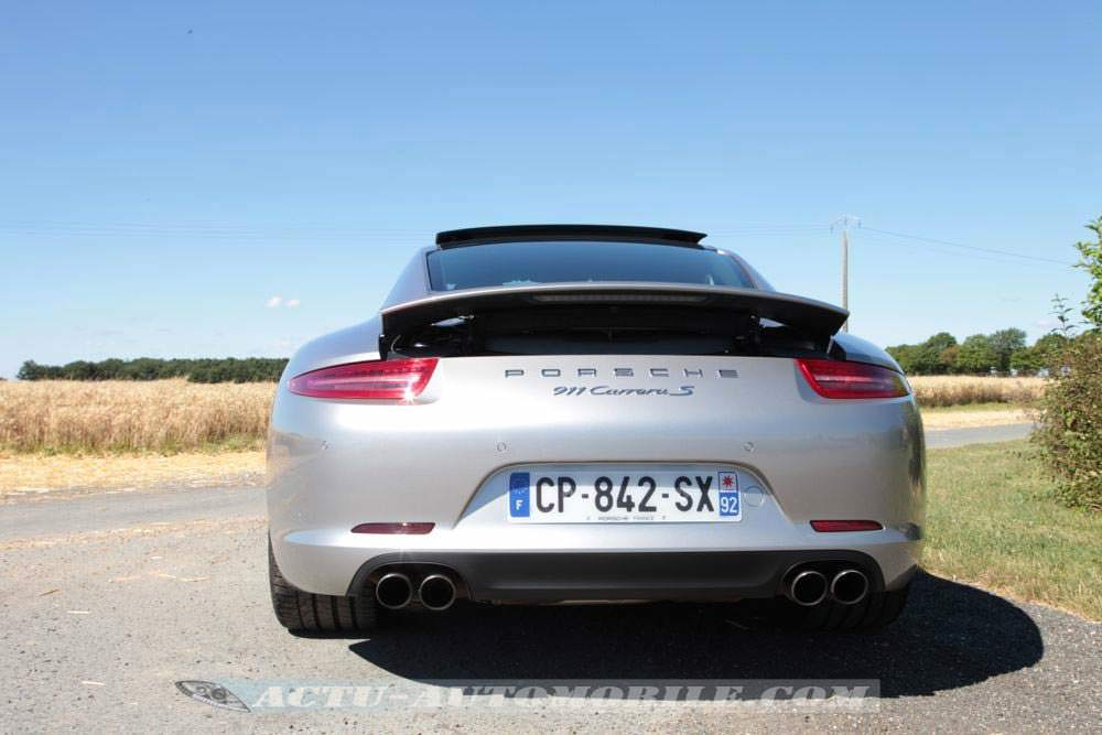essai porsche 911 carrera s   bilan  photos  technique
