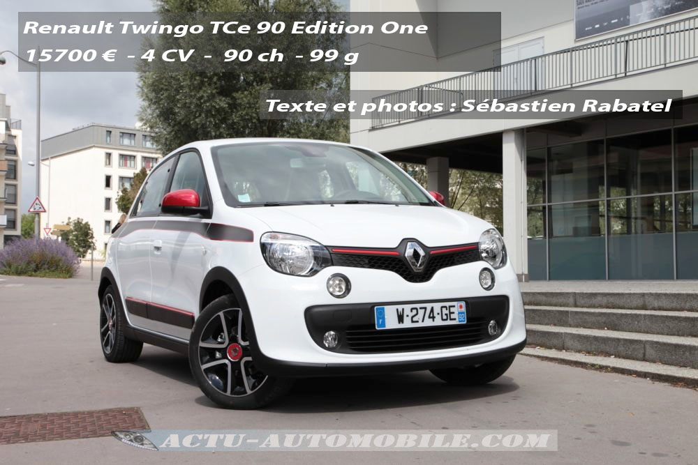 essai nouvelle twingo tce 90 bilan photos technique actu automobile. Black Bedroom Furniture Sets. Home Design Ideas