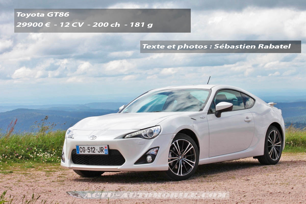 essai toyota gt86 conclusion galerie photos actu. Black Bedroom Furniture Sets. Home Design Ideas