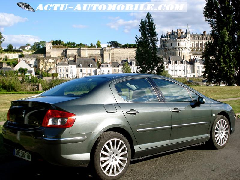 "Peugeot 407 profil jantes 18"""