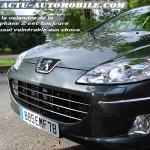Calandre Peugeot 407 restylée