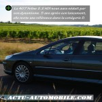 La Peugeot 407 reste une référence