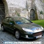 Peugeot 407 restylée