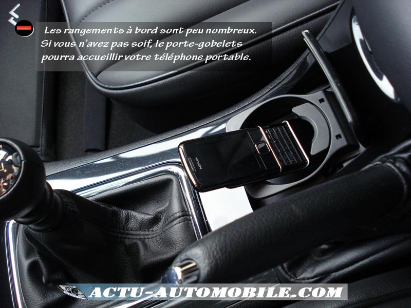 Porte gobelets Peugeot 407