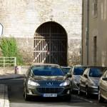 Peugeot 407 en ville