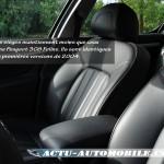 Sellerie cuir Peugeot 407