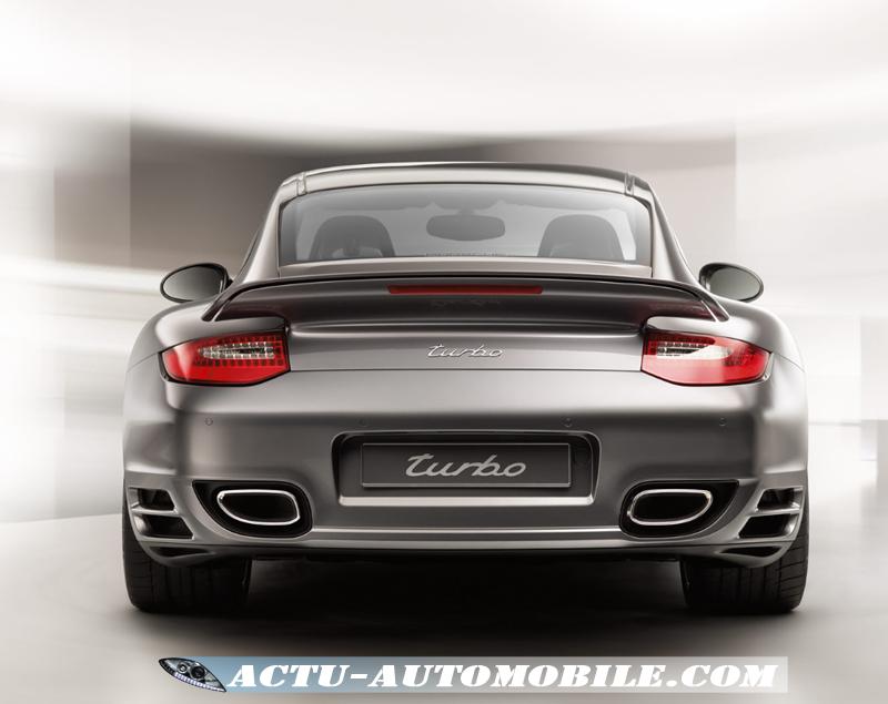 911 Turbo vue arrière