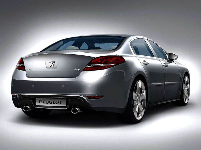 Illustration de la future Peugeot 408