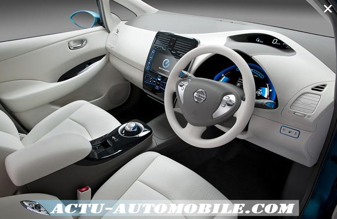 Intérieur Nissan Leaf