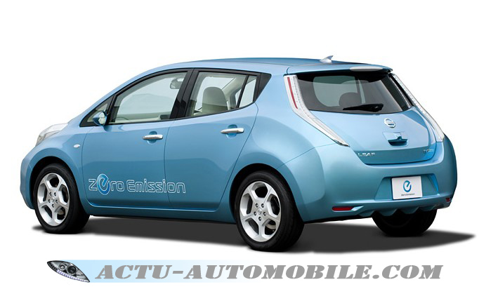 Nissan zero emission
