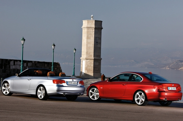 BMW série 3 coupé et cabriolet 2010