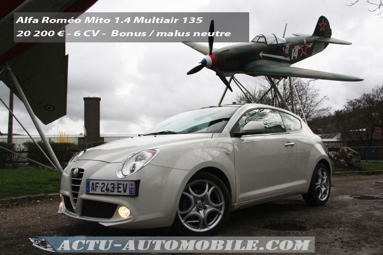 Alfa Roméo Mito Multiair 135