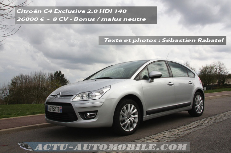 Citroën C4 Exclusive HDI 140