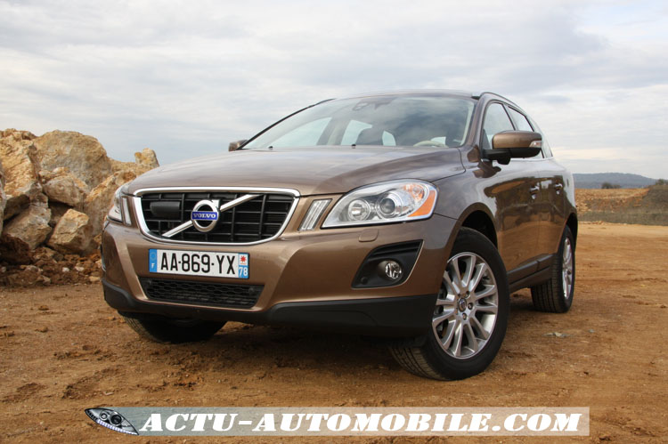 des nouveaut s pour le volvo xc60 mill sime 2012 actu automobile. Black Bedroom Furniture Sets. Home Design Ideas