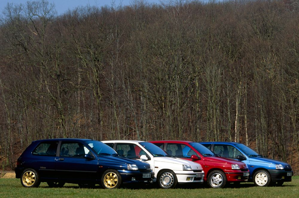Gamme sportive Renault Clio 1