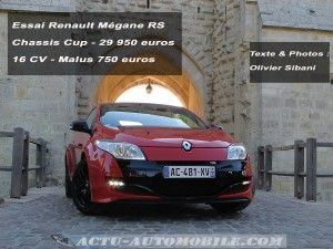Megane RS chassis Cup