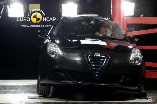 Alfa Giulietta Euro NCAP