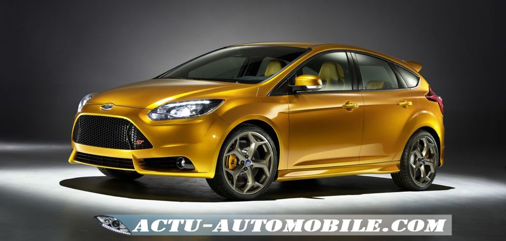 premi re image de la nouvelle ford focus st actu automobile. Black Bedroom Furniture Sets. Home Design Ideas