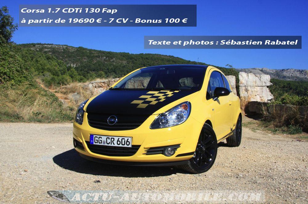 Opel Corsa CDTi 130