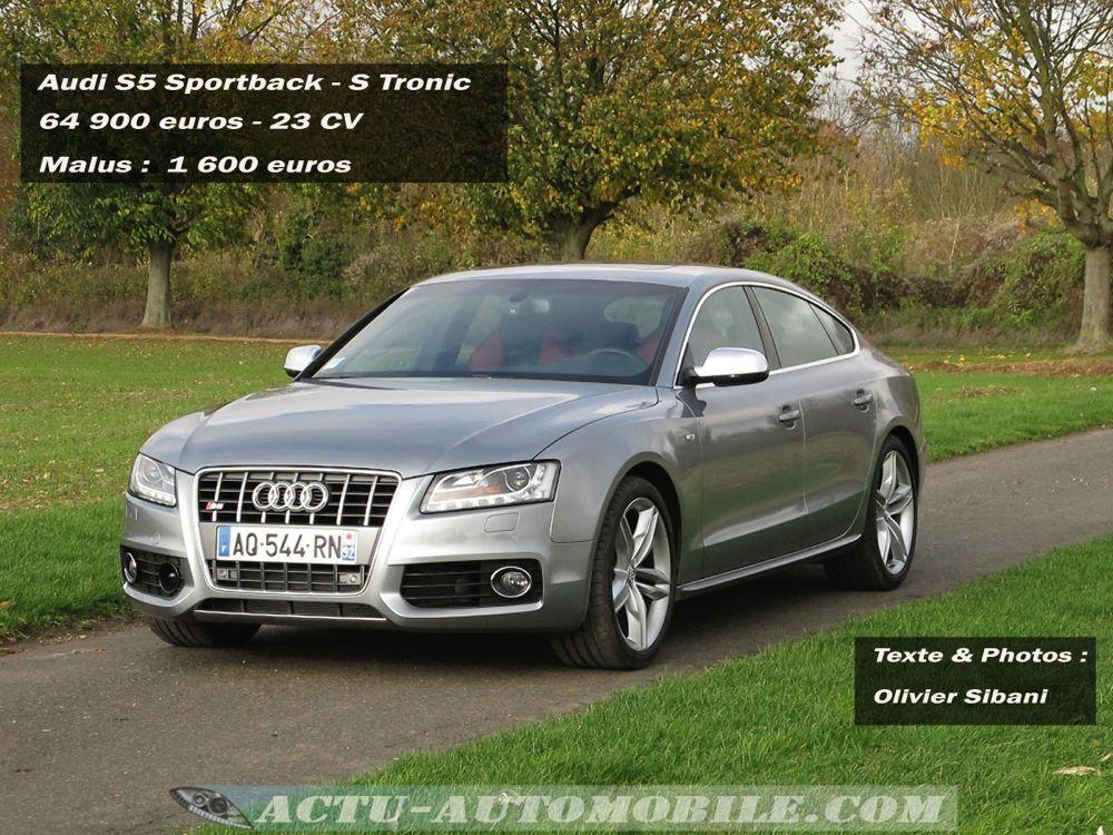 Essai Audi S5 Sportback