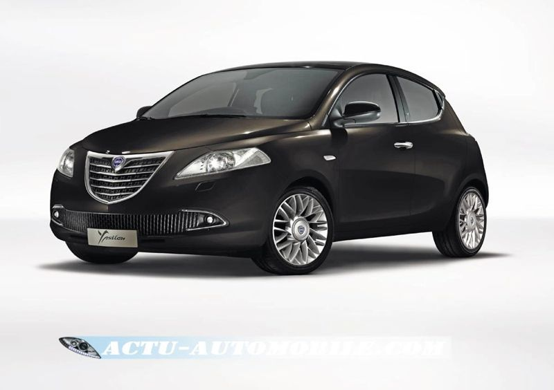 nouvelle lancia ypsilon 5 portes une premi re actu automobile. Black Bedroom Furniture Sets. Home Design Ideas