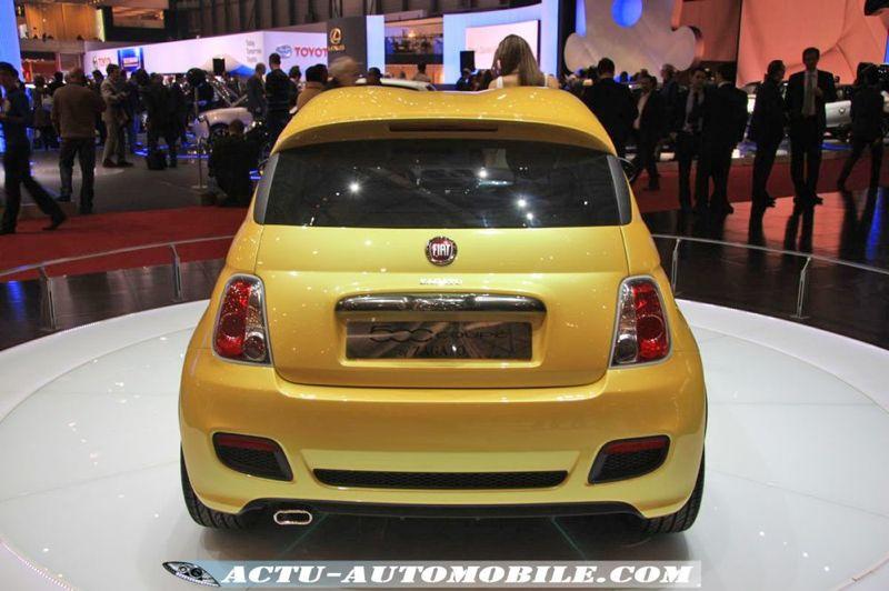 Fiat 500 Concept Coupé Zagato