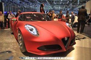 Alfa Roméo 4C