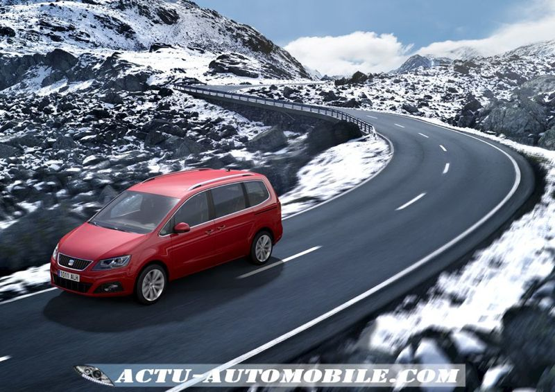 seat alhambra 4wd un grand monospace 4x4 actu automobile. Black Bedroom Furniture Sets. Home Design Ideas