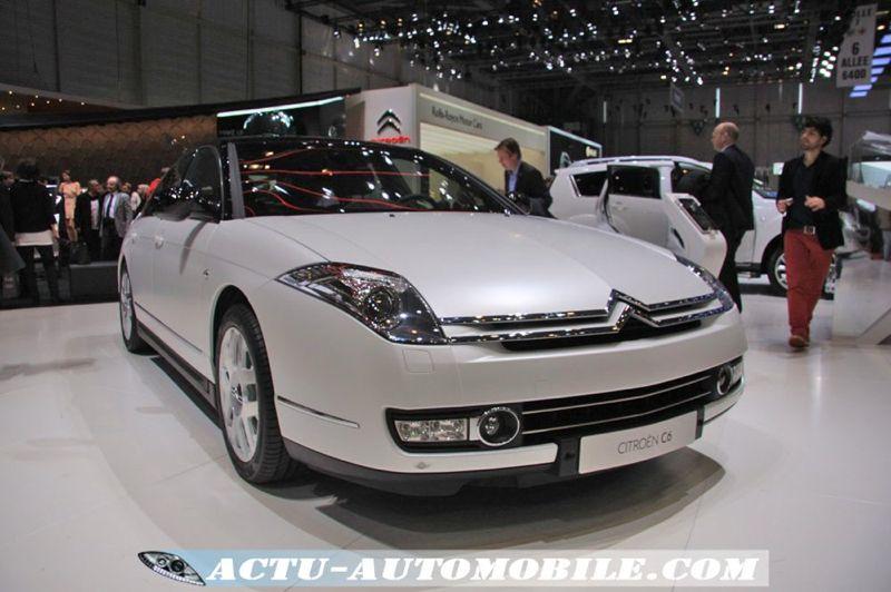 Citroën C6 Noir et Blanc