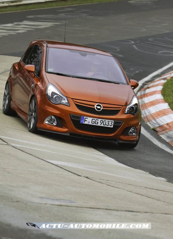 opel corsa opc n rburgring edition 210 ch. Black Bedroom Furniture Sets. Home Design Ideas