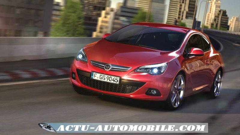 Opel Astra GTC 2011