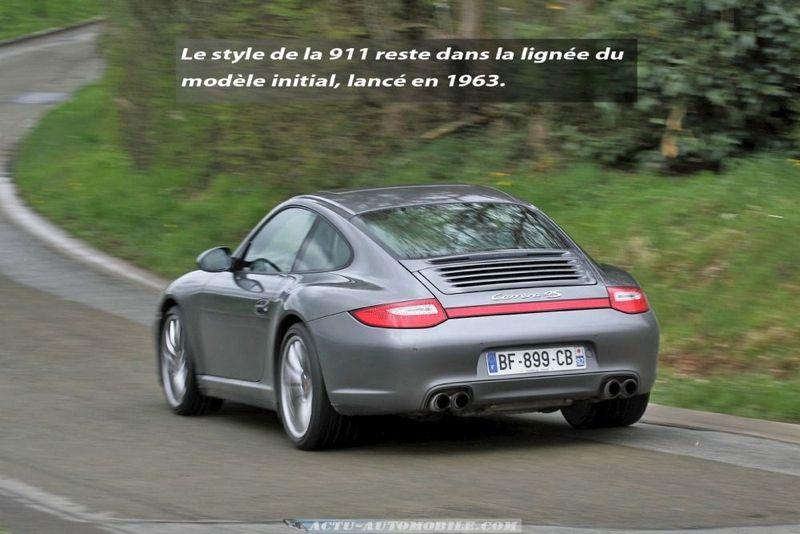 Essai Porsche 911 Carrera 4s Pdk Type 997 Actu Automobile