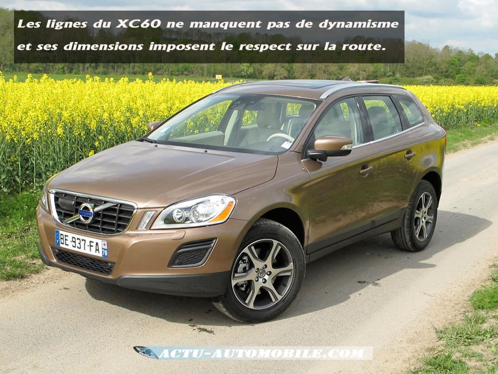 essai volvo xc60 drive en toute modestie actu automobile. Black Bedroom Furniture Sets. Home Design Ideas