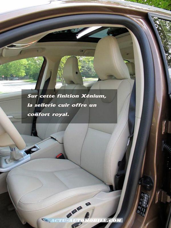 essai volvo xc60 drive en toute modestie actu automobile. Black Bedroom Furniture Sets. Home Design Ideas