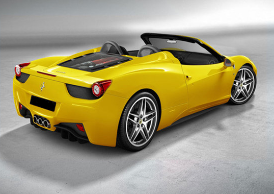 ferrari 458 italia spider c 39 est pour bient t actu. Black Bedroom Furniture Sets. Home Design Ideas