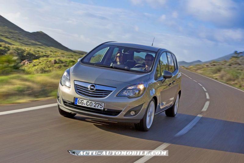 Opel Meriva Connect Edition