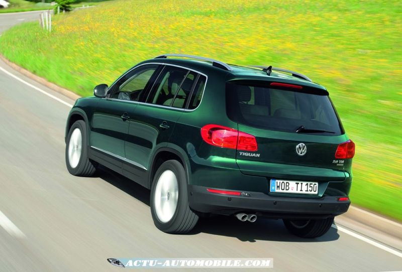 nouveau volkswagen tiguan 2011 plus technologique que jamais actu automobile. Black Bedroom Furniture Sets. Home Design Ideas
