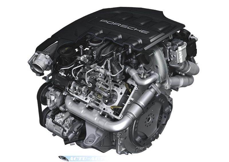 Porsche Panamera Diesel moteur