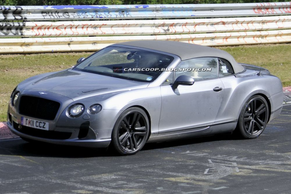 Bentley Continental GTC cabriolet