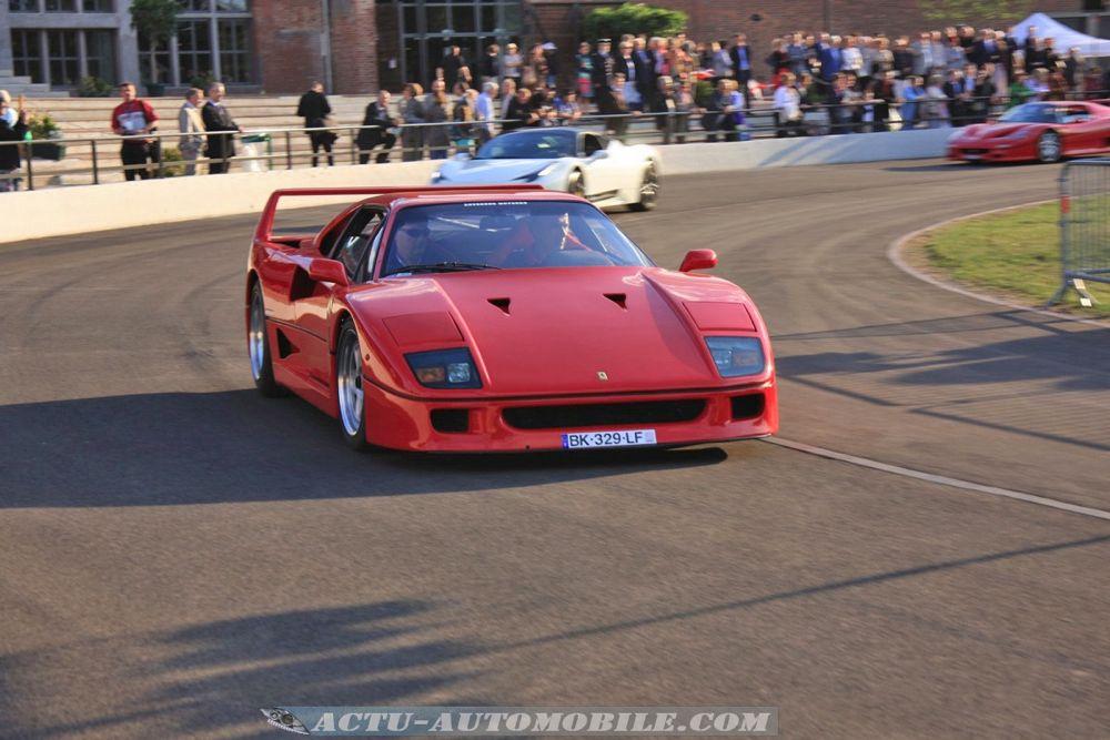 Ferrari au Festival Automobile de Mulhouse