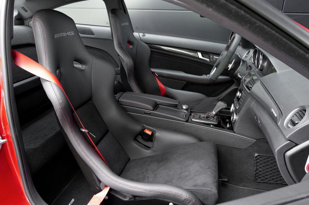 Mercedes C 63 AMG Coupé Black Series