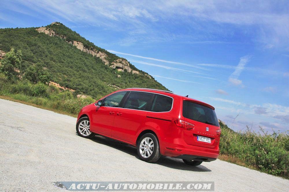 Seat Alhambra 2.0 TDI 140 4WD